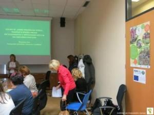 Marjanca Kos na seminarju